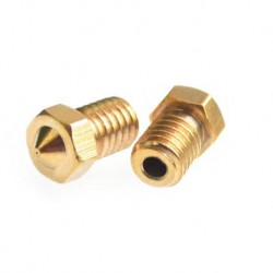 Buse Nozzle pour hot end metal imprimante 3D hotend Reprap Hexagon E3D France Nantes Buze 0,4 0.4